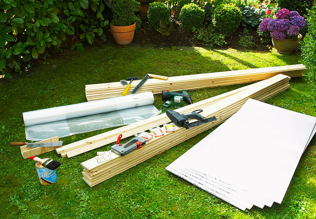 Materials for cold frame building